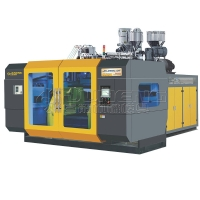 Double station high speed blow molding machine