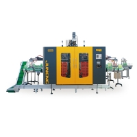 Double station Automatic Extrusion Blow Molding Machine