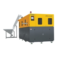 HIGH-SPEED AUTOMATIC BLOW MOLDING MACHINE